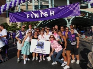 Swing Down Memory Lane Team at Houston Walk to End Alzheimer's