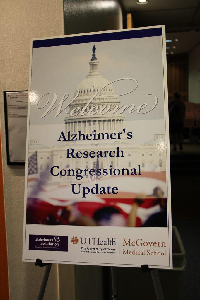 Alzheimer's Congressional Research Update Houston