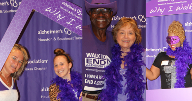 Alzheimer's Houston New Team Kick Off