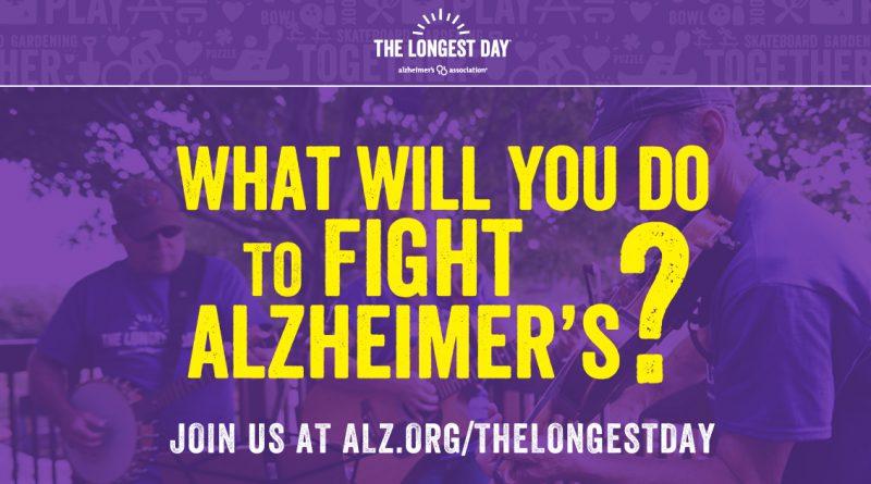 Alzheimer's Association 2017 Longest Day Launches - blog