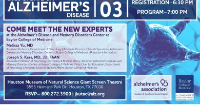 Meet the new directors at this year's Update on Alzheimer's lecture