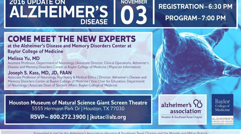 Alzheimer's Update Houston