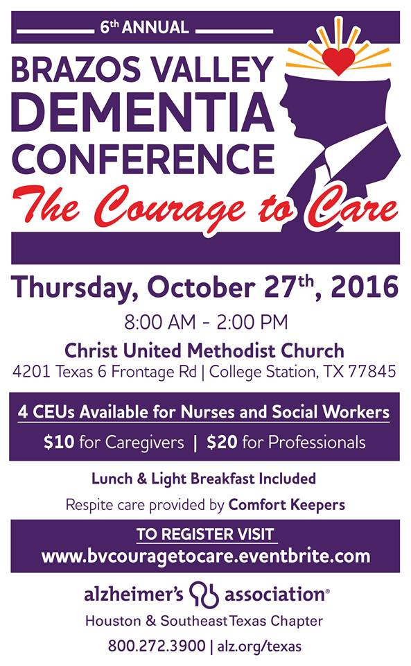 Brazos Valley Alzheimer's Caregiver Conference