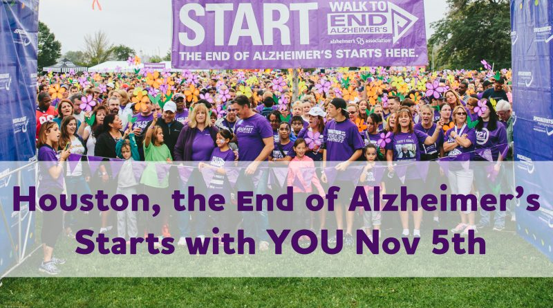 Houston Walk to End Alzheimer's Logistics