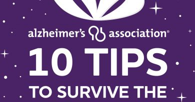 10 Tips to Survive the Holidays & Alzheimer's