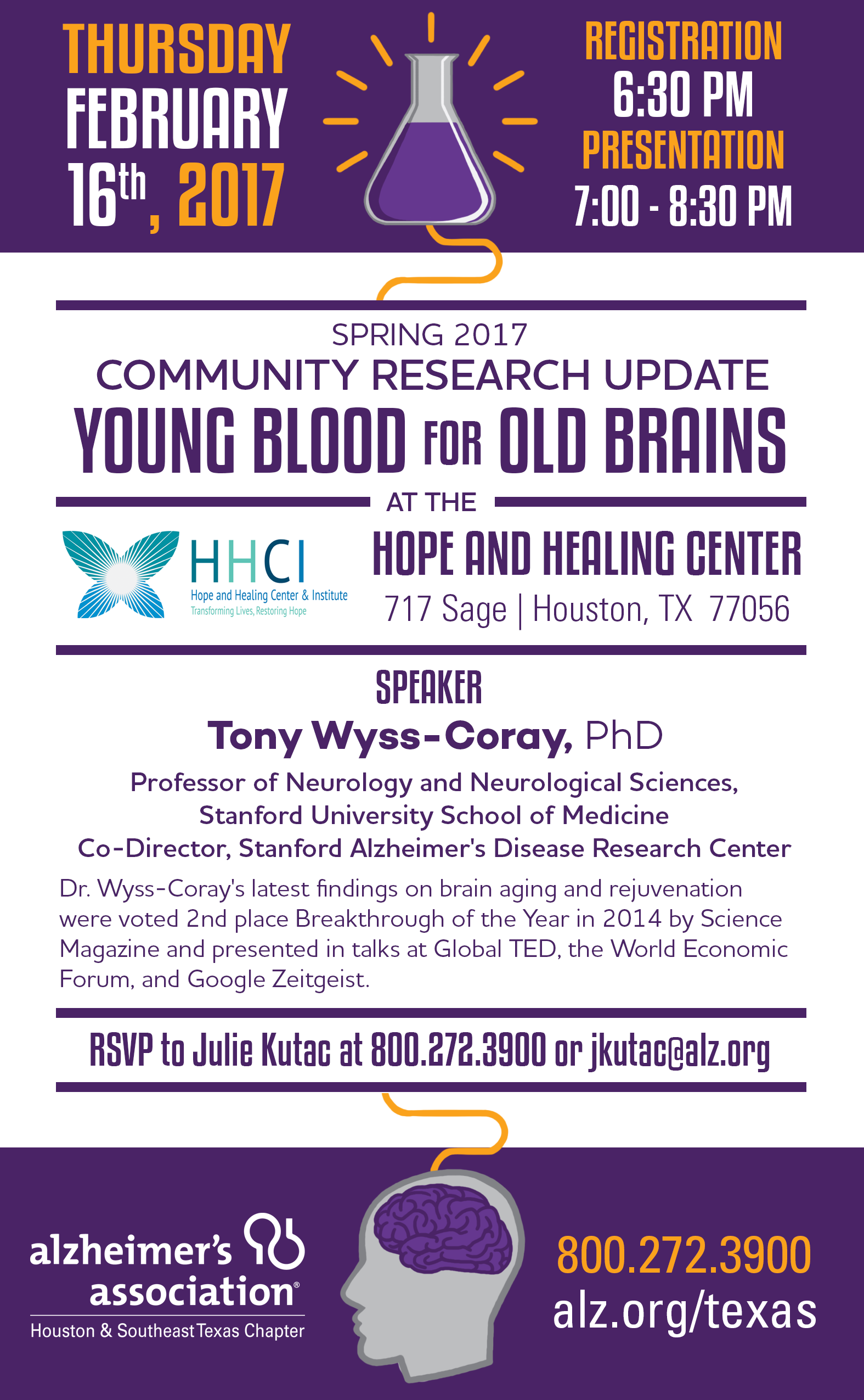 Community Alzheimer's Research Update Houston