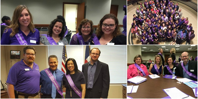 alzheimer's texas advocacy day 2017 PEOPLE