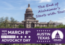 March 8, 2017: Alzheimer's Association's Texas Advocacy Day