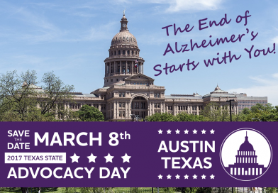 March 8, 2017: Alzheimer's Association's Texas Advocacy Day