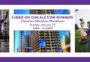 Cheer on our ALZ STARS Runners at the Chevron Houston Marathon