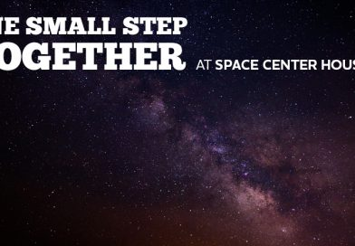 One Small Step Together at Space Center Houston