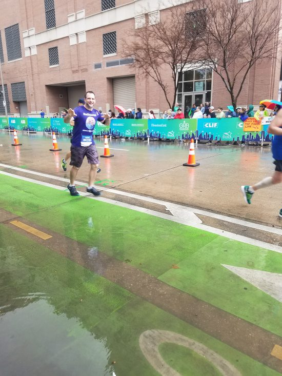 Alzheimer's Awareness with the Houston Marathon Run for a Reason Program