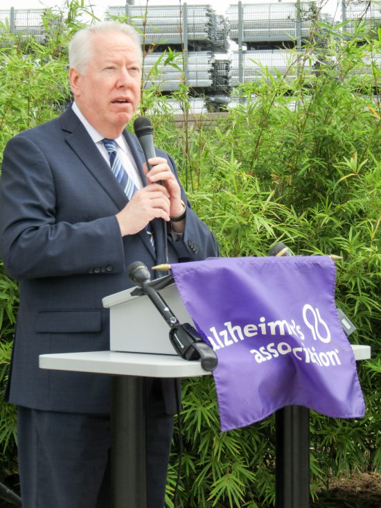 Alzheimer's Association Houston 9-11 Memorial Garden Rabbi David Rosen, Senior Rabbi, Congregation Beth Yeshurun