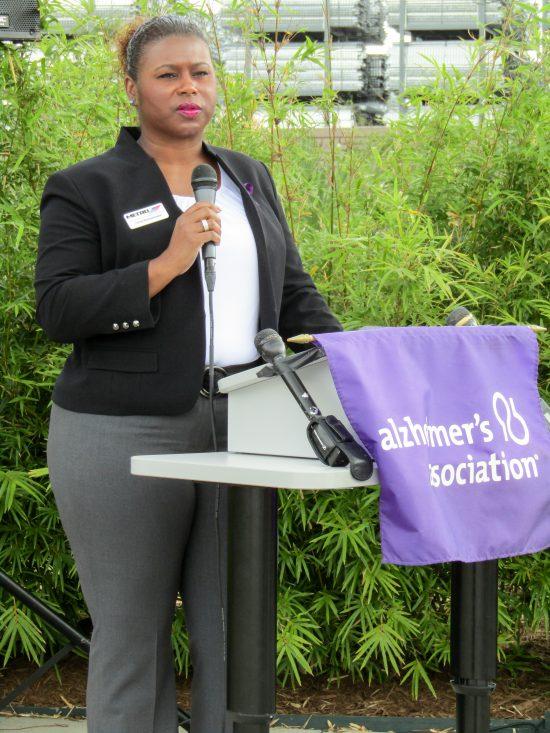 Alzheimer's Association Houston 9-11 Memorial Garden Tanya McWashington, Metropolitan Transit Authority of Harris County