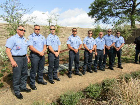 Alzheimer's Association Houston 9-11 Memorial Garden