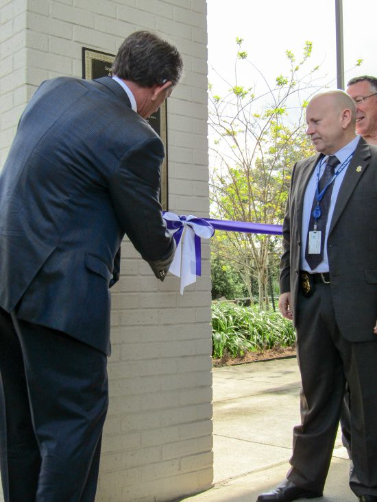 Alzheimer's Association Houston 9-11 Memorial Garden Ribbon Cutting - Chris Binkley, Alzheimer's Association National Board Chairman