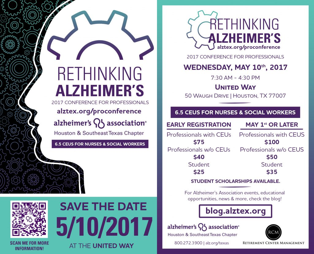 Alzheimer's Houston Professional Conference Combination