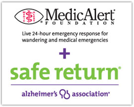 Alzheimer's Texas Safe Return wandering