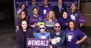 houston alzheimer's young people