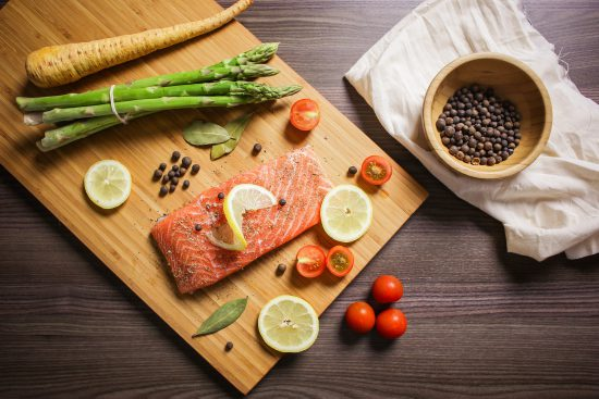 Alzheimer's- Healthy Salmon Dinner