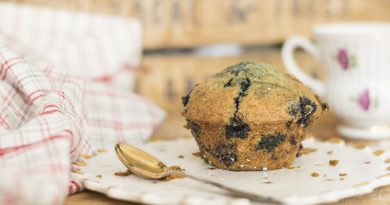 MIND Diet Blueberry Muffins to Help Reduce the Risk of Dementia