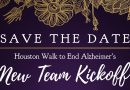 Houston Walk to End Alzheimer's 2017 New Team Kickoff