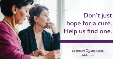 TrialMatch Studies Benefiting Research on Alzheimer's & Dementia Disease