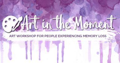 Art in the Moment— Alzheimer's Art Workshop