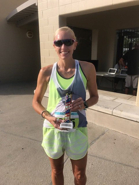 ALZ Star Runner Candace Adkins Runs the Chevron Houston Marathon on behalf of the Alzheimer's Association