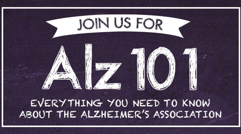 Alzhemeir's Association Houston Alz 101