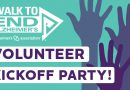 Join us for your Walk to End Alzheimer's Volunteer Kickoff Party