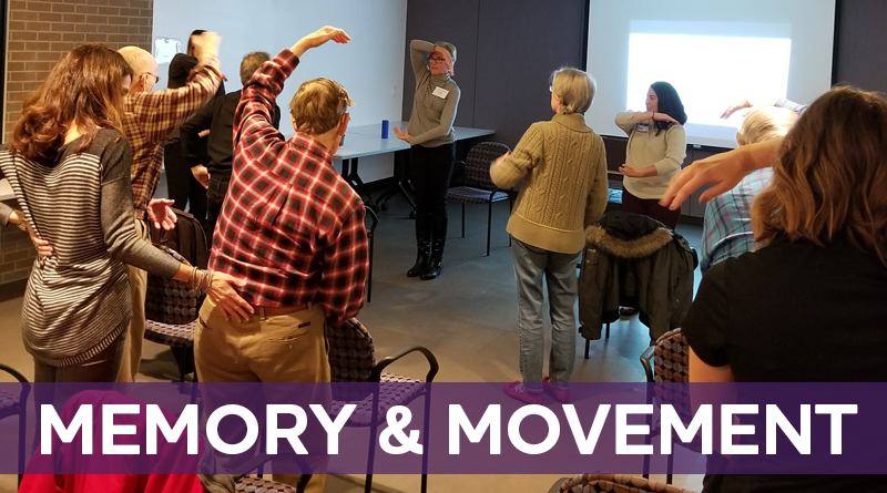 Memory & Movement Together: Exercising & Socializing