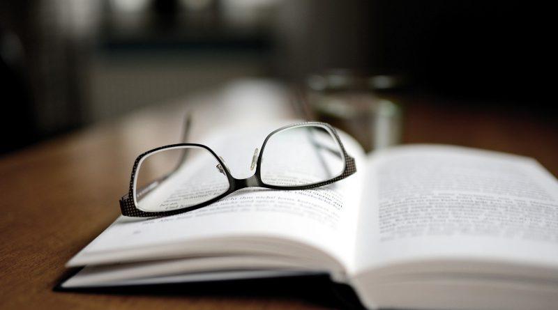 She Closed the Book…